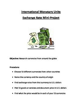 International Money Mini-Project