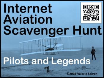 Internet Aviation Scavenger Hunt — Pilots and Legends, QR