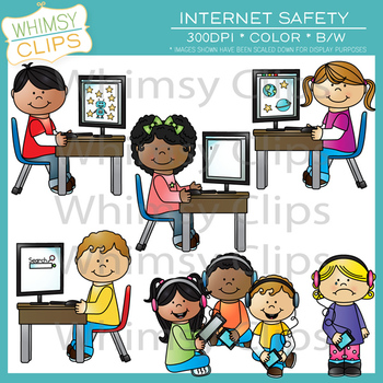 Internet Safety Clip Art