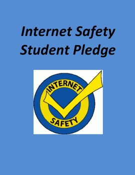 Internet Safety Student Pledge
