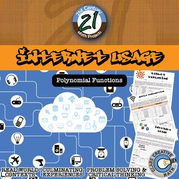 Internet Usage -- International Polynomial Regression Project