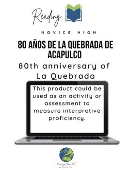 Interpretive Reading-80 years La Quebrada