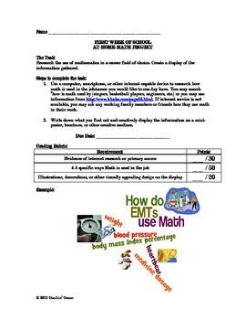 Math in Careers Mini Project