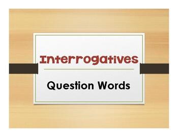 Spanish Interrogatives Notes