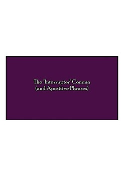Interrupter Comma Introduction Video