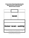 Intertextuality Interactive Notebook Lesson
