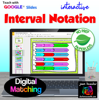 Interval Notation with Google Slides