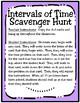 Intervals of Time Scavenger Hunt (TEKS 4.8C)