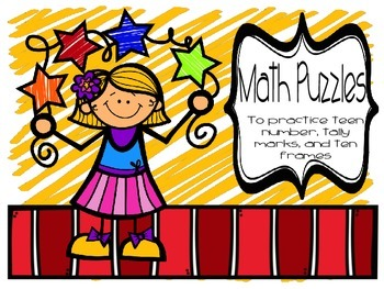 Math Puzzles- Teen numbers