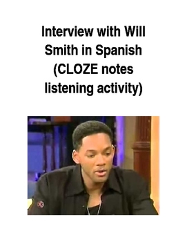 Interview with Will Smith in Spanish