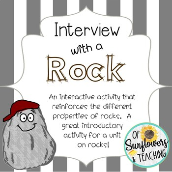 Interview with a Rock: An Introductory Activity for a Unit