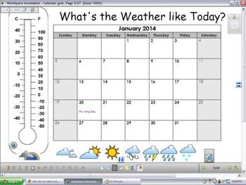 Interwrite Workspace Calendar
