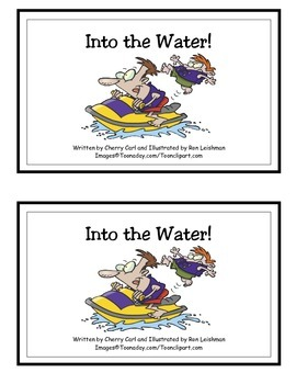 Into the Water! Guided Reader (-er and -ide Word Families)