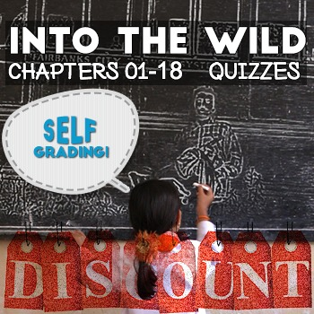 Into the Wild - Chapter Quizzes: Chapters 01-18 - 18% Disc