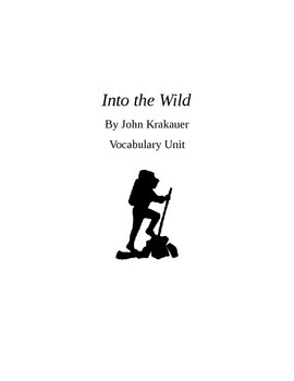 Into the Wild Vocabulary Unit