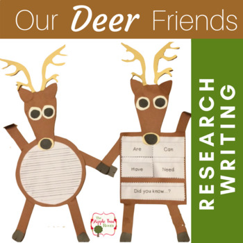 Deer Unit {K-3 CCSS Writing + Craft Project}