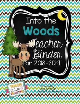 Into the Woods Teacher Binder {2015-2016}