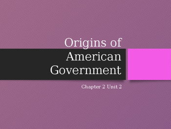 Into to American Govt