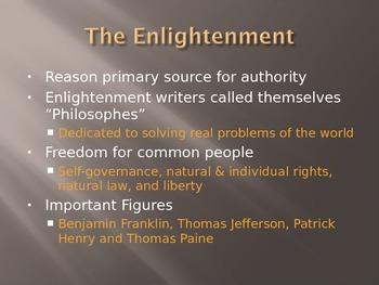 Intro Enlightenment & Romanticism Presentation