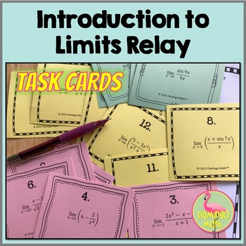 Intro To Calculus: Limits Relay Activity