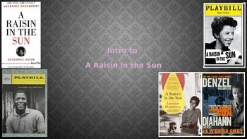 Intro to A Raisin in the Sun PPT