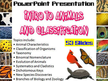 Intro to Animals & Classification PowerPoint (great for Zo