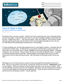 Intro to Astronomy, How to Start a Star - Engaging Science