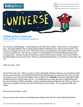 Intro to Astronomy, Inflating the Universe - Engaging Scie