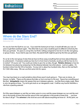 Intro to Astronomy, Where do the Stars End? - Engaging Sci