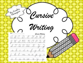 Intro to Cursive Writing