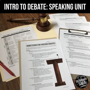 Debate Unit: Introduction for Secondary ELA