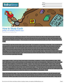 Intro to Earth and Life History, How to Study Earth - Enga