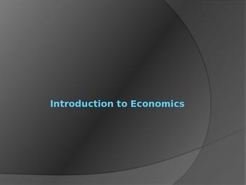 Intro to Econ PowerPoint