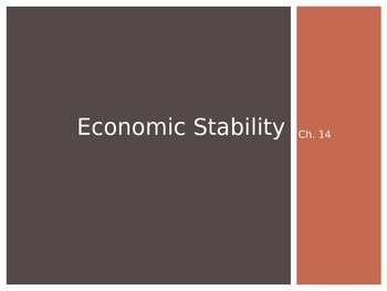 Intro to Economics: Economic Stability