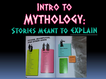 Intro to Greek, Roman and Norse Mythology