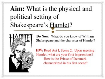 Intro to Hamlet Powerpoint