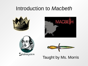 Intro to Macbeth