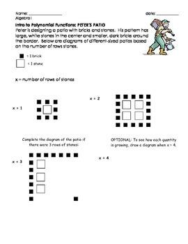 Intro to Quadratic Functions
