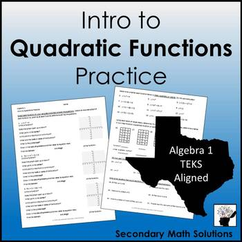 Quadratics Practice
