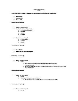 Intro to Rhetoric Outline Unit Plan (CCSS) with Summative