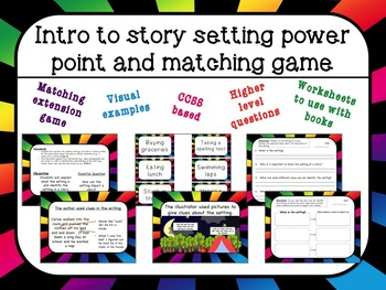 Intro to Setting power point and game