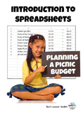 Intro to Spreadsheets: Planning a Picnic Budget