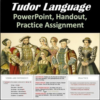 Intro to Tudor Language/Dialects (The Prince and the Pauper)