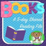 Book handling/Books Shared Reading Kindergarten