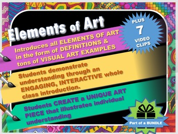 Intro to the Elements of Art (Line, shape, color, value, f