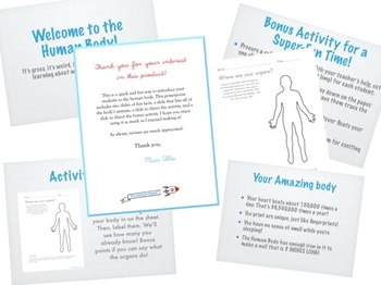Intro to the Human Body Powerpoint or Flipped Classroom To