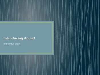 Introducing Bound by Donna Jo Napoli