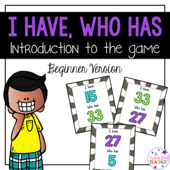 Introducing I have Who has Card Game!