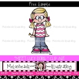 Introducing Lucy Doris Freebie by Melonheadz