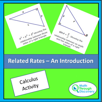 Calculus:  Related Rates - An Introduction
